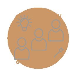 Icône de l'expertise sociale du groupe ACA 2.0, cabinet d'expertise comptable.